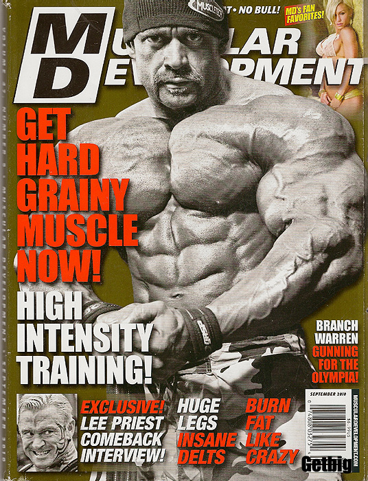 FLEX bodybuilding fitness muscle magazine BOBBY LASHLEY 9-07