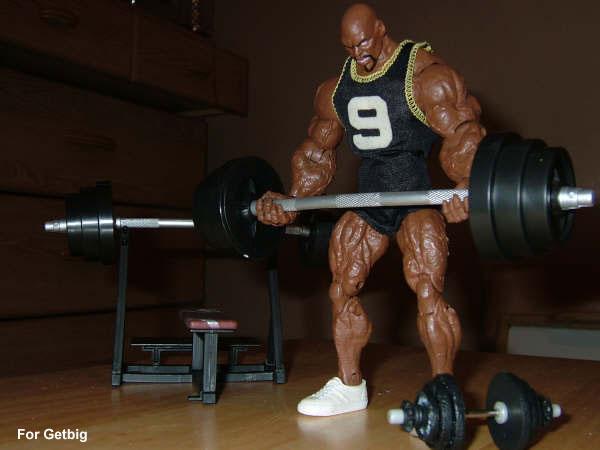 Ronnie Coleman Bodybuilding Action Figure?